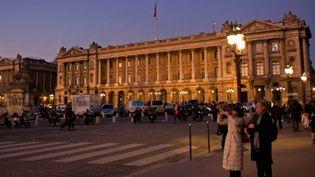 L'Hôtel de la Marine, place de la Concorde  (Wilfried Louvet / AFP / Only France)