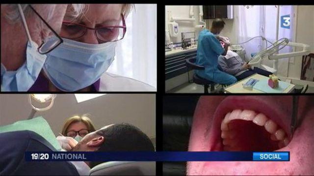 Santé : les dentistes manifestent contre le plafonnement de leurs tarifs