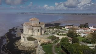 Talmont-sur-Gironde, en Charente-Maritime, est une presqu'île et une terre de vigne, baignée par un fleuve et par l'océan Atlantique. (CAPTURE D'ÉCRAN FRANCE 3)