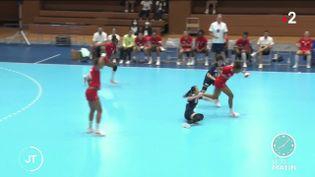 Des joueuses de handball. (France 2)