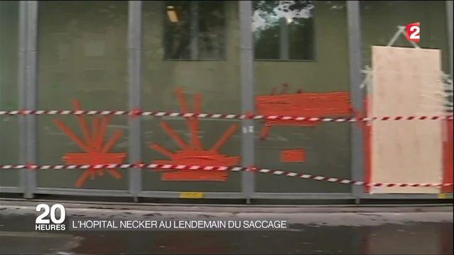Manifestations contre la loi Travail : retour sur l'attaque vécue à l'hôpital Necker