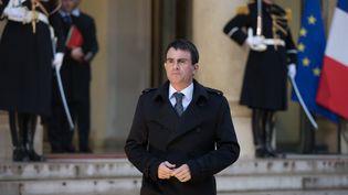 Manuel Valls, le 8 janvier 2015, à l'Elysée. (  MAXPPP)