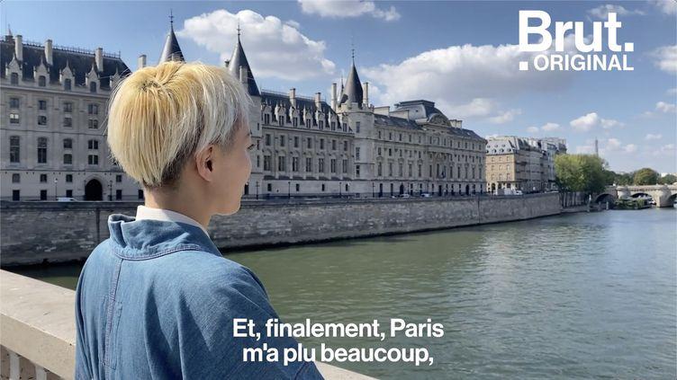 VIDEO. Du Japon à la France, Sono raconte son premier jour à Paris (BRUT)
