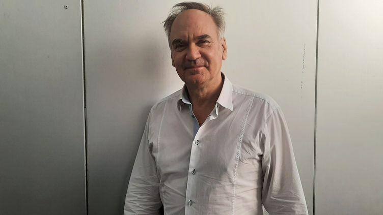 Hervé Le Tellier, écrivain, prix Goncourt 2020. (SEBASTIEN BAER / RADIO FRANCE)