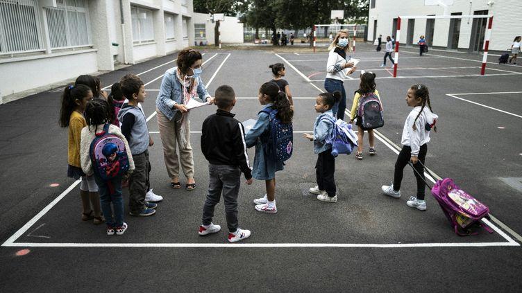 L'école élémentaire Clement Falcucci de Toulouse (Haute-Garonne), le 1er septembre 2020. (AFP / LIONEL BONAVENTURE)