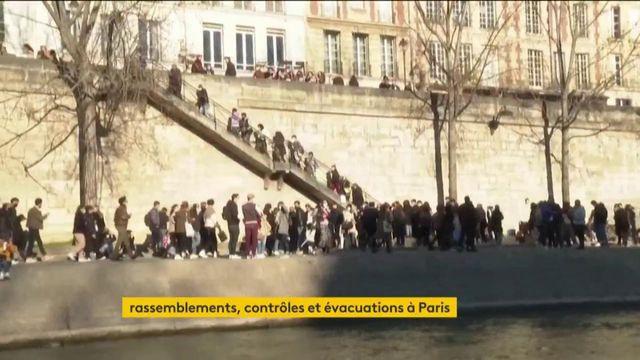 Paris : les quais ont été évacués par la police samedi