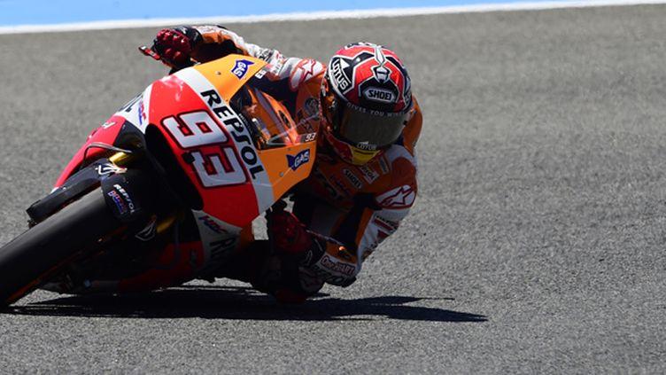 Marquez continue de survoler ce début de Championnat (JAVIER SORIANO / AFP)