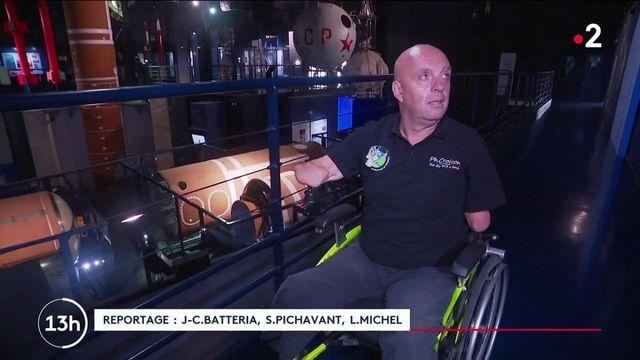 Conquête spatiale : Philippe Croizon pourrait devenir la première personne en situation de handicap à partir dans l'espace