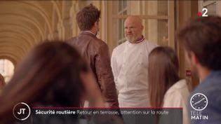 Un clip de la Sécurité routière avec Philippe Etchebest (France 2)