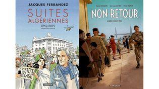 JACQUES ET JEAN-LAURENT, FILS D'ALGERIE (JACQUES FERRANDEZ, CASTERMAN / OLIVIER MANGIN, DARGAUD)