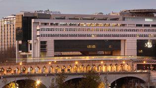 Le ministère de l'Economie, des Finances et de l'Industrie, à Paris. (MANUEL COHEN / AFP)