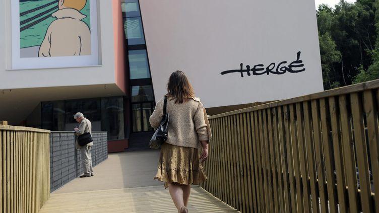 Le musée Hergé de Louvain-la-Neuve (Belgique), le 25 mai 2009. (MAXPPP)