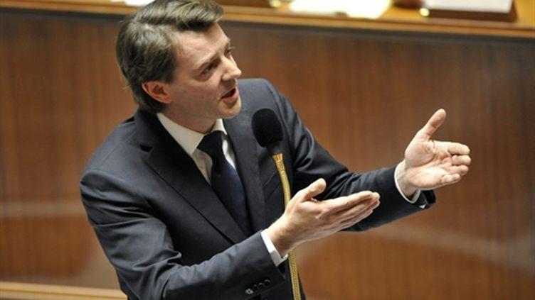 Le ministre du Budget François Baroin, à l'Assemblée nationale le 6 avril 2010 (AFP - Mehdi FEDOUACH)