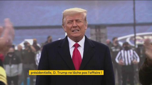 États-Unis : Donald Trump tente un dernier recours