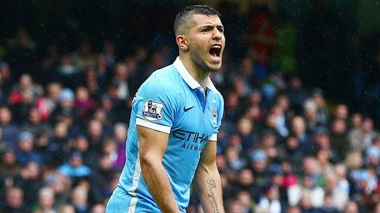 L'attaquant de Manchester City, Kun Aguero
