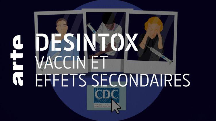 Désintox. Non, les effets secondaires du vaccin anti-Covid-19 ne sont pas graves (ARTE/2P2L)