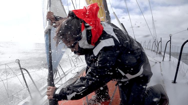 La navigatriceAlexia Barrier, l'une des femmes au départ de cette Route du Rhum 2018. (Stan Thuret)