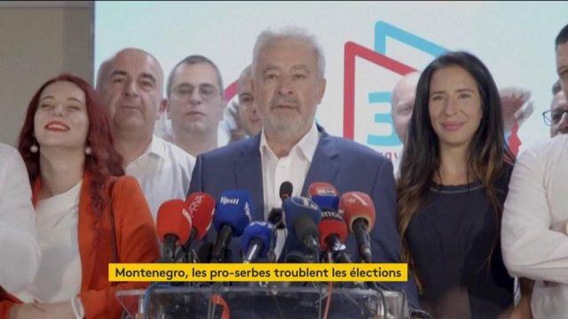Monténegro : les pro-serbes tout près de diriger le pays