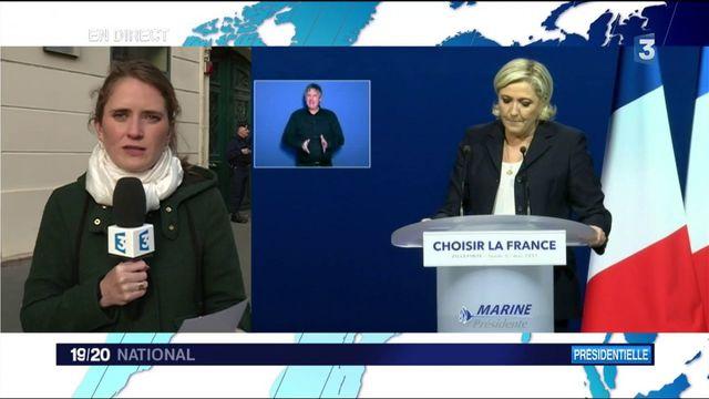 Présidentielle : la stratégie de Marine Le Pen à six jours du second tour