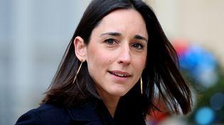 La secrétaire d'Etat à la Transition écologique, Brune Poirson, le 9 janvier 2019 dans la cour de l'Elysée (Paris). (MUSTAFA YALCIN / ANADOLU AGENCY / AFP)