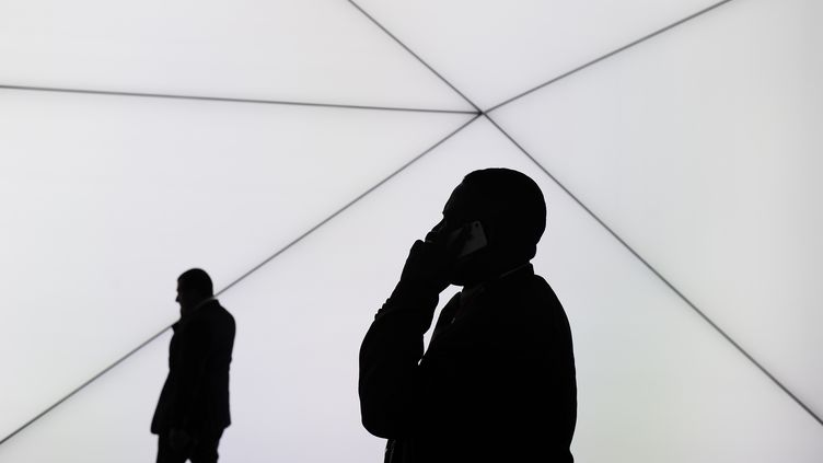 La Françe perd jusqu'à 1,8% de PIB par an à cause du temps d'attente pour joindre les plateformes téléphoniques, selon une étude publiée le 19 mars 2014. (JOSEP LAGO / AFP)