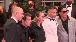 """Parmi les films projetés le samedi 10 juillet au Festival de Cannes, """"Suprêmes"""", qui retrace les jeunes années du groupe de rap NTM. Un film musical mais aussi sociétal.  (FRANCE 2)"""