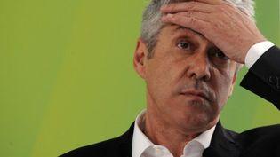 Le premier ministre portugais sortant, José Socrates, en campagne. Beaucoup de questions sur l'avenir du pays... (AFP - FRANCISCO LEONG)
