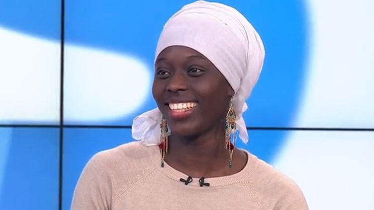 La sprinteuse Myriam Soumaré