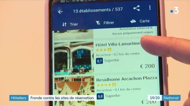 Hôteliers : haro contre les sites de réservation