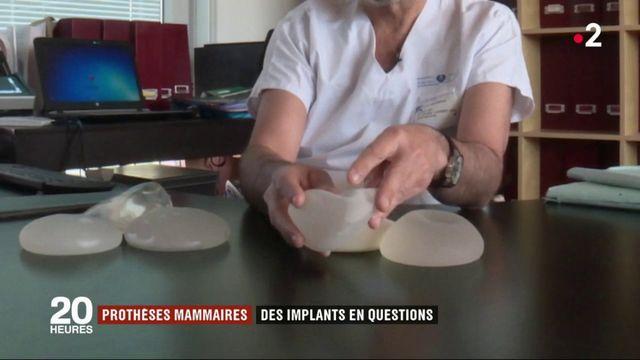 Prothèses mammaires : des implants en questions