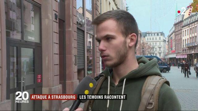 Attentat à Strasbourg : les témoins racontent