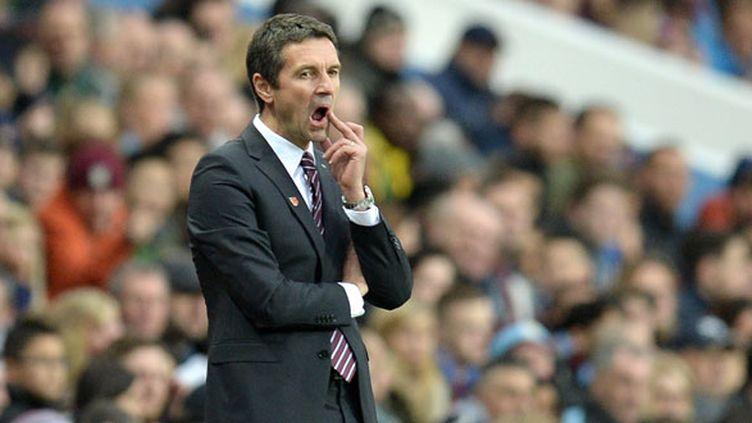 L'entraîneur d'Aston Villa, Rémi Garde