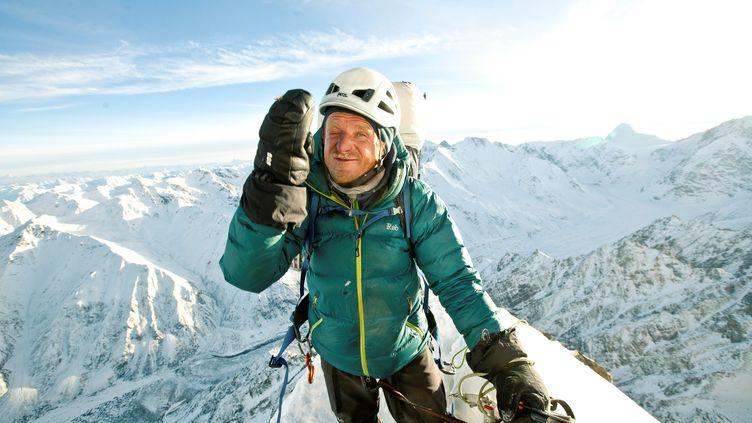 L'alpinisteTomasz Mackiewicz, en janvier 2014 sur le Nanga Parbat (Pakistan). (FORUM FORUM / REUTERS)