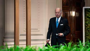 Le président américain Joe Biden en avril 2021 (ANNA MONEYMAKER / POOL / THE NEW YORK TIMES POOL)