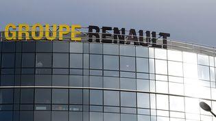 Le siège du groupe Renault à Boulogne-Billancourt, le 19 novembre 2018. (ERIC PIERMONT / AFP)