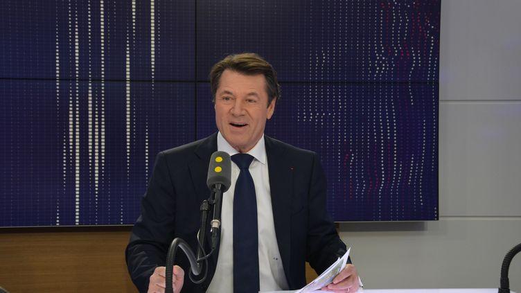 Christian Estrosi,maire de Nice. (JEAN-CHRISTOPHE BOURDILLAT / RADIO FRANCE)