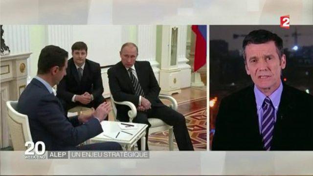 Syrie : Vladimir Poutine soutient toujours le régime de Bachar Al-Assad