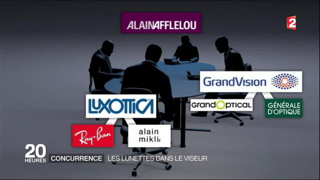Lunettes : plusieurs marques accusées de pratiques anticoncurrentielles