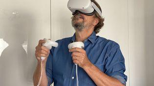 Masque de réalité virtuelle Oculus Quest 2 (JC/RF)