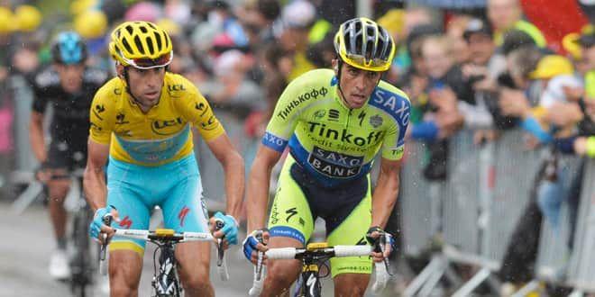 Nibali lâché par Contador dans le final