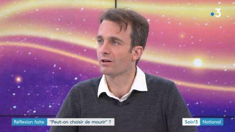 Alexandre Lacroix, directeur de la rédaction dePhilosophie Magazine. (FRANCE 3)