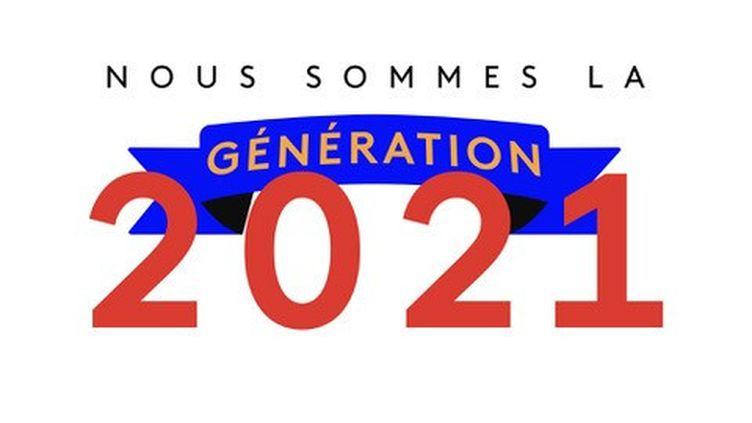 """Logo de l'opération """"Nous sommes la génération 2021"""" (DR)"""