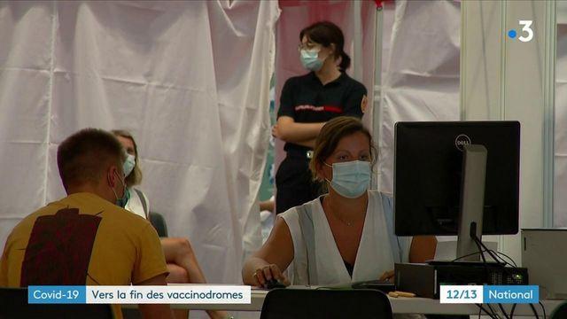Covid-19 : face à la baisse du nombre de candidats au vaccin, les vaccinodromes ferment leurs portes