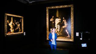 Maria Cristina Terzaghi, spécialiste du Caravage, au musée de Capodimonte à Naples, où elle était commissaire d'une exposition consacrée au maître du clair-obscur (11 avril 2019) (ELIANO IMPERATO / CONTROLUCE)