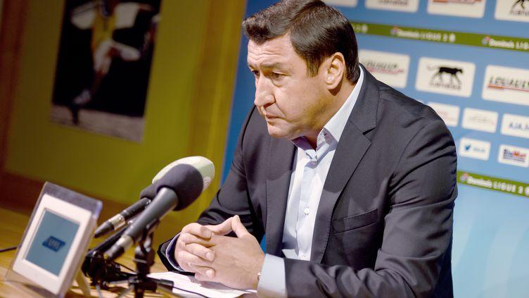 Viorel Moldovan n'est plus l'entraîneur d'Auxerre (J?R?MIE FULLERINGER / MAXPPP)