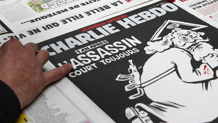 """La une de """"Charlie Hebdo"""", le 4 janvier 2016. (BENOIT TESSIER / REUTERS)"""