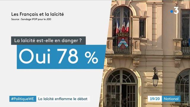 Laïcité, source d'inquitétude pour les Français