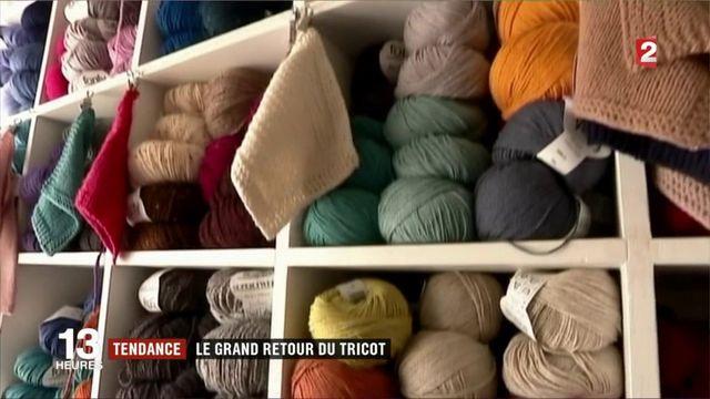 Tendance : le grand retour du tricot
