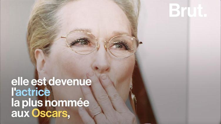 Après 40 ans de carrière, elle est devenue une des voix les plus fortes du cinéma. Retour sur la carrière hors norme de Meryl Streep. (BRUT)