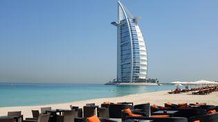 La plage de Dubaï, le 14 mai 2015. (PATRICK BAZ / AFP)
